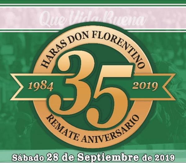 Haras Don Florentino celebrará su 35º aniversario con su mítico remate