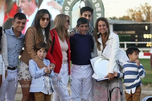Pablo Falero, el más grande corrió su última carrera como Jockey en Argentina