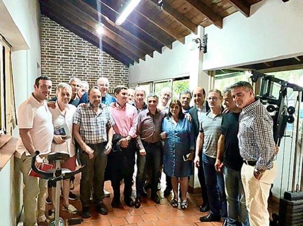 Encuentro con la Ministra de Gobierno Teresa García y diversos representantes de la actividad