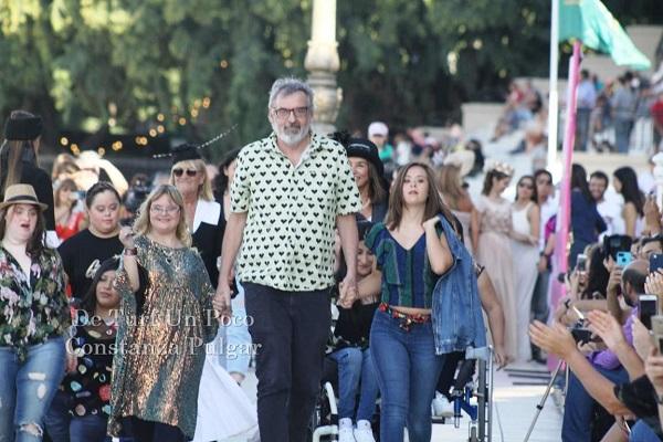 """Se realizó el desfile """"Diosas por la Inclusión"""""""