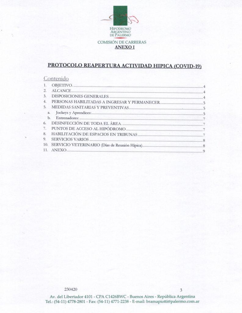 Protocolo Reapertura Actividad Hípica Covid-19 en el ...