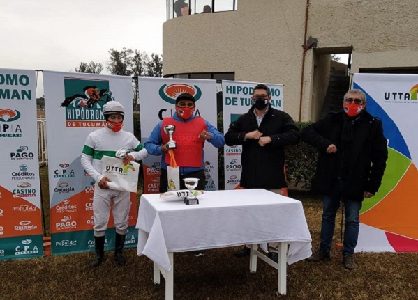 Sarfo ganó el premio UTTA en tiempo récord en Tucumán