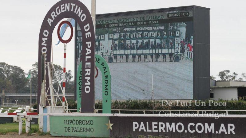 Sin público y sin apuestas online,volvieron las carreras al Hipódromo dePalermo
